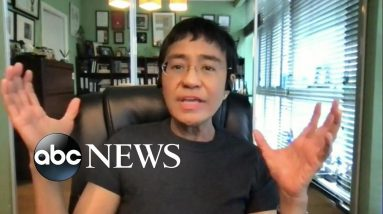 'This is a battle for facts': Journalist Maria Ressa on Nobel Peace prize win