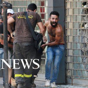 Beirut battles, Taiwan fire, Koala naps: World in Photos, Oct. 14