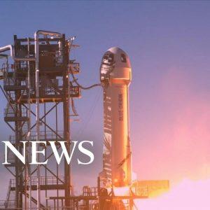Blue Origin crew launches to edge of space l GMA