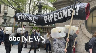 Climate change fight on Indigenous People's Day