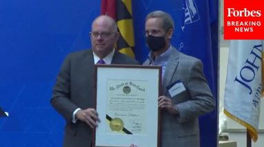 Gov. Hogan Opens Applied Physics Lab At Johns Hopkins