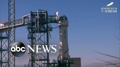 History made with Blue Origin Space Launch
