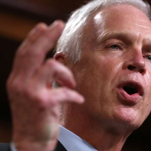 JUST IN: Wisconsin Democrats Protest Outside Ron Johnson's Office
