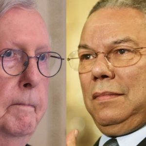 JUST IN: Mitch McConnell Remembers Colin Powell After Former Secretary Of State Dies At 84