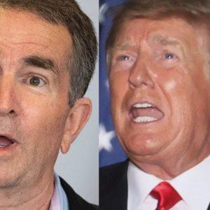 'Glenn! Glenn! Glenn!': Northam Assails Glenn Youngkin Over Trump's 'Take Back Virginia' Rally