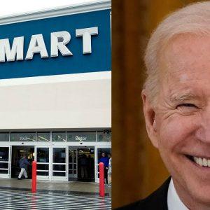 Biden Praises Businesses Like Walmart For Helping Address Supply Bottlenecks