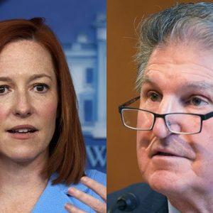 Jen Psaki: 'I'm Not Going To React Directly To Senator Manchin's Point Of View'