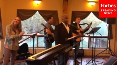 Allen West Performs 'Won't Back Down' At Event After Being Released From Hospital