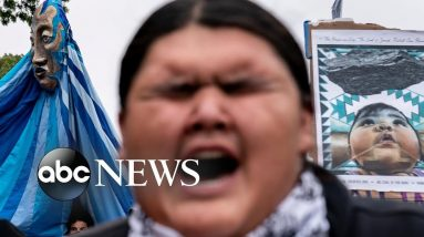 Indigenous activists in D.C., Michigan rally, a German maze: Week in Photos, Oct. 15
