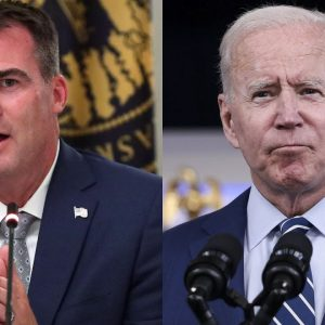 'It's Unconstitutional': Gov. Stitt Pledges To Take Biden To Court Over Vaccine Mandates